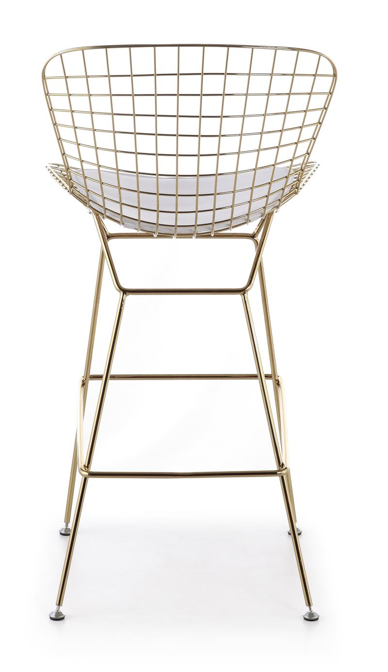 Bertoia Wire Counter Stool In Gold Finish Bar amp Counter  : BertoiaBarstoolGold4 from modernselections.com size 800 x 1384 jpeg 74kB