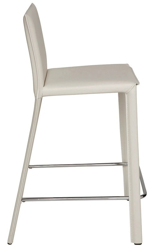Nuevo Brigitte Bar Stool Brigitte Leather Bar Stool By