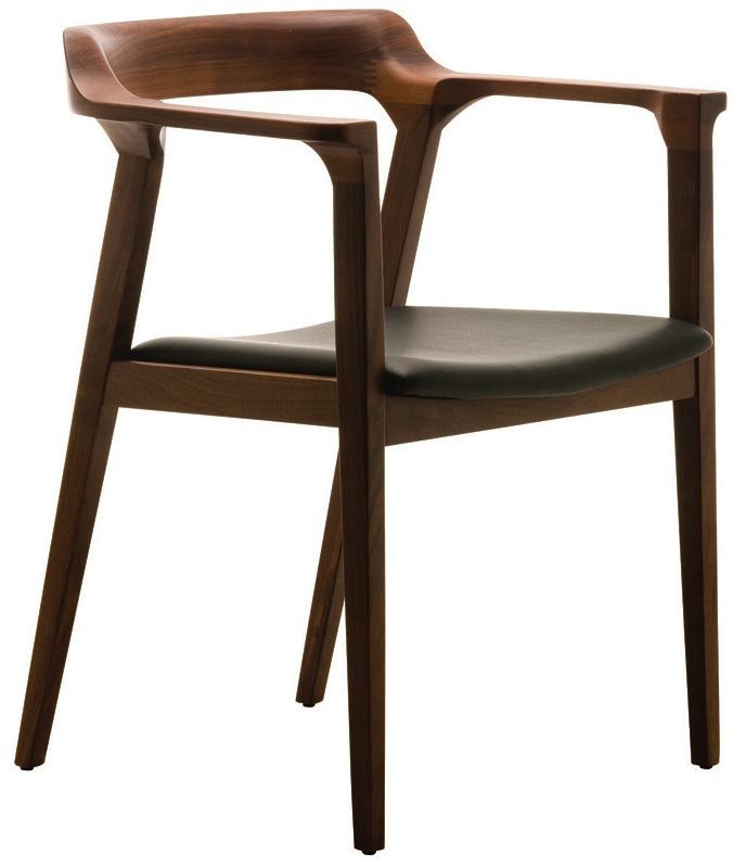 Nuevo Brie Dining Chair Black: Nuevo Caitlan Dining Chair In Tan Walnut Or Black Oak