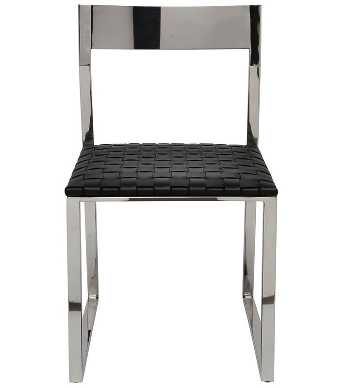 Nuevo Brie Dining Chair Black: Nuevo Camille Dining Chair