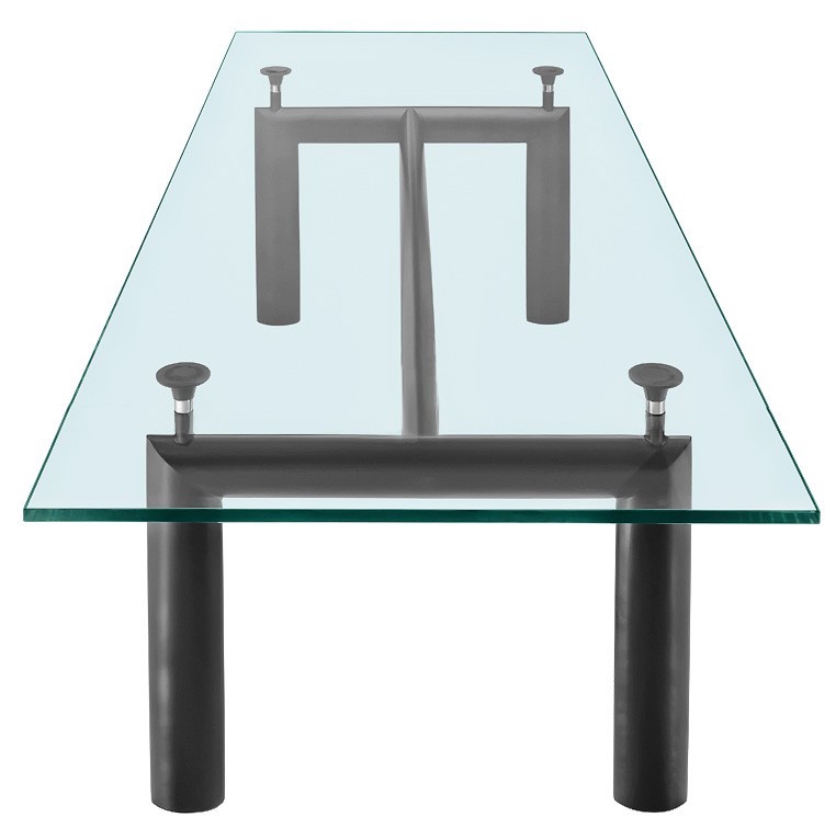 le corbusier lc6 dining table classic dining tables lc6 table. Black Bedroom Furniture Sets. Home Design Ideas