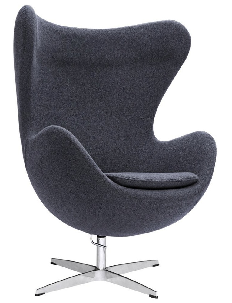 Arne jacobsen style egg chair many colors home and for Chaise jacobsen