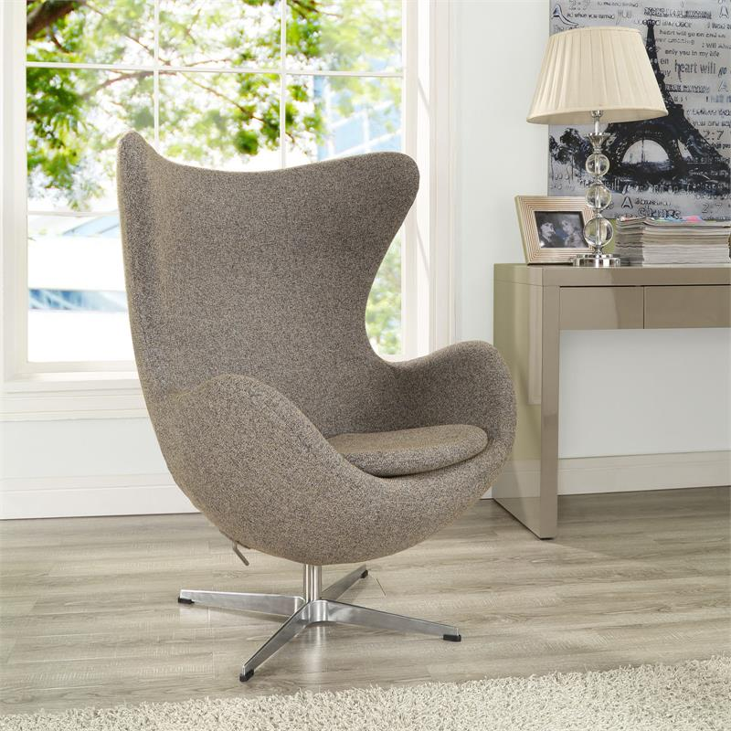 arne jacobsen style egg chair many colors home and office furniture free shipping - Silla Egg