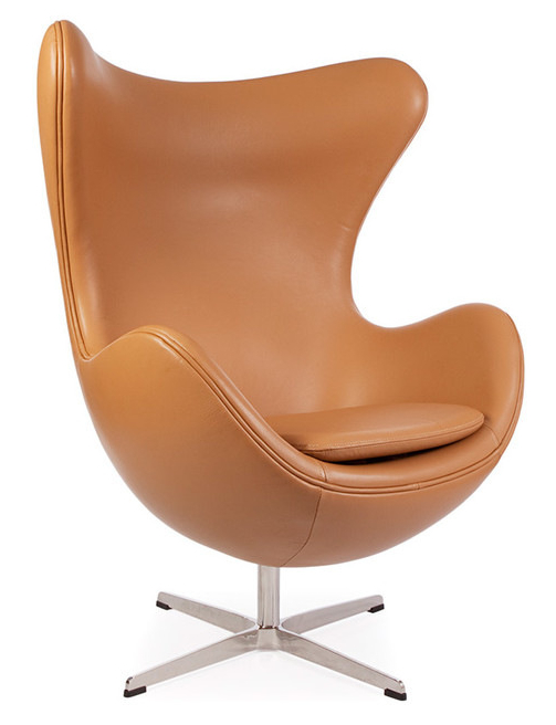 Leather jacobsen egg chair we have larges selection on for Chaise jacobsen