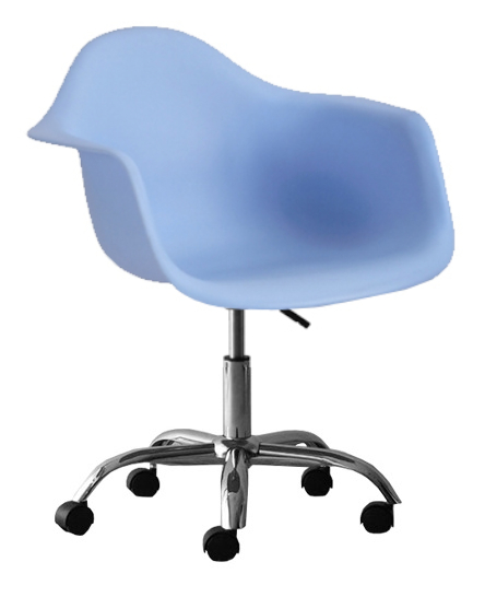 molded plastic eiffel bucket seat office chair modernselections