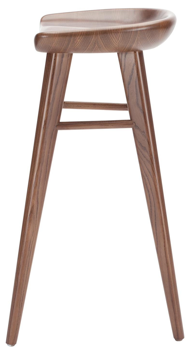 Nuevo Kami Bar Stool Walnut Classic Bar And Counter