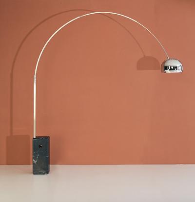 Modern Castiglioni Style Arco Lamp