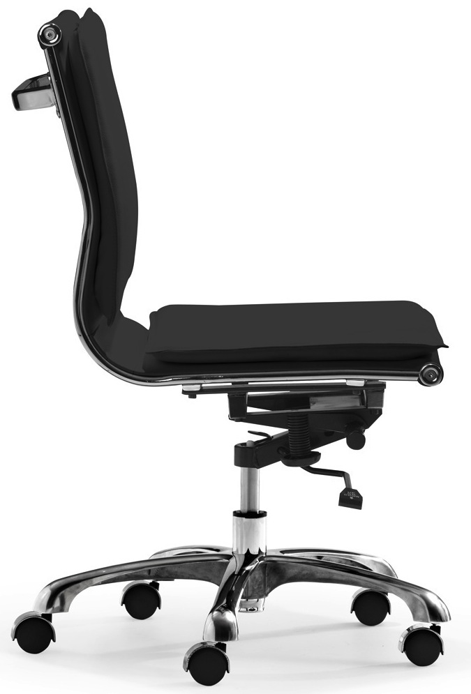 Lider Plus Armless Office Chair Zuo Modern Free Shipping