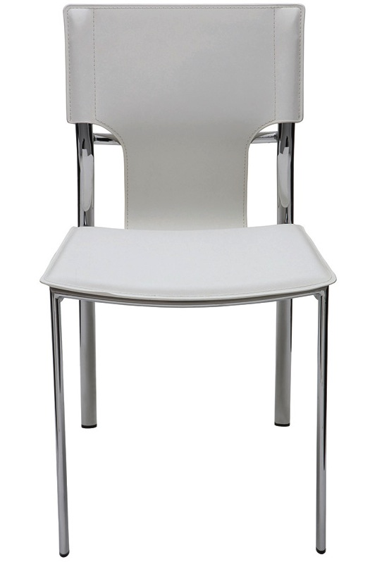 Lisbon Dining Chair By Nuevo   Leather Nuevo Lisbon Chairs   Free Shipping