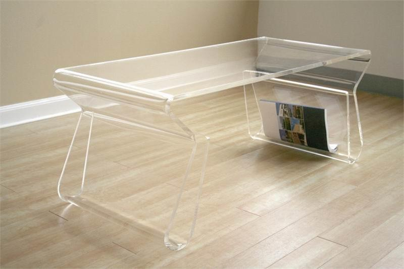 acrylic magino coffee table - acrylic coffee table for outdoor use