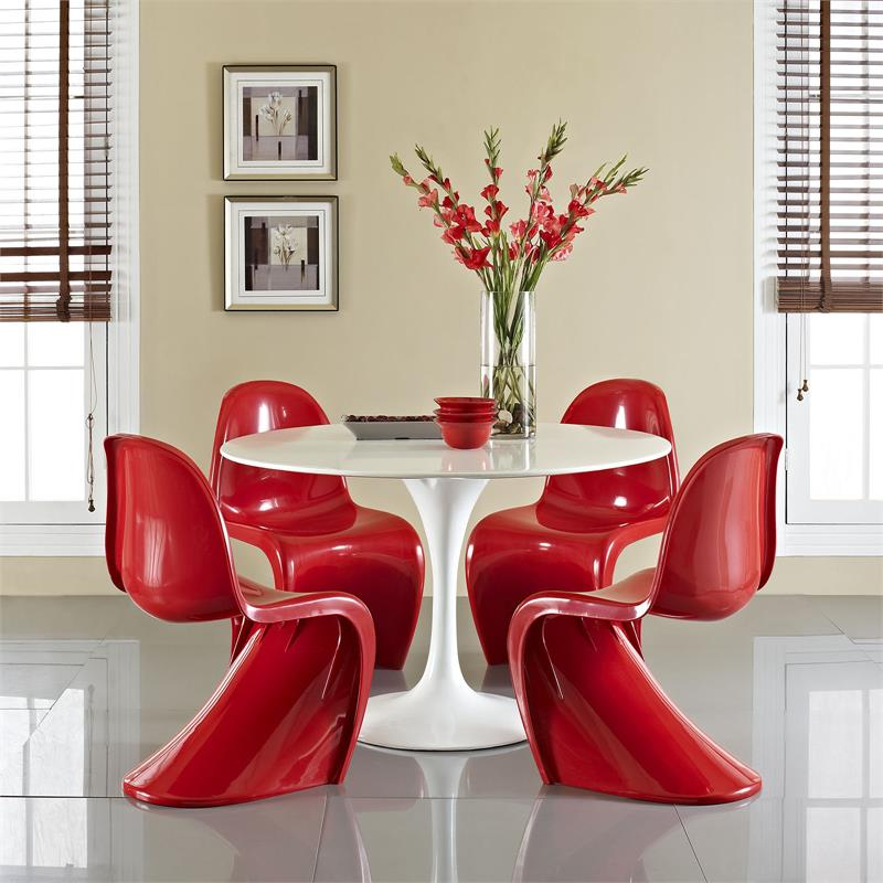 S Panton Dining Chair In Flat Or Glossy Finish Fast