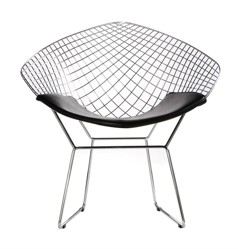 bertoia wire diamond chair diamond chair for home or office free shipping. Black Bedroom Furniture Sets. Home Design Ideas