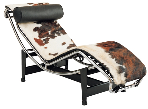 Lc4 lasair pony chaise lounge for Chaise longue le corbusier pony