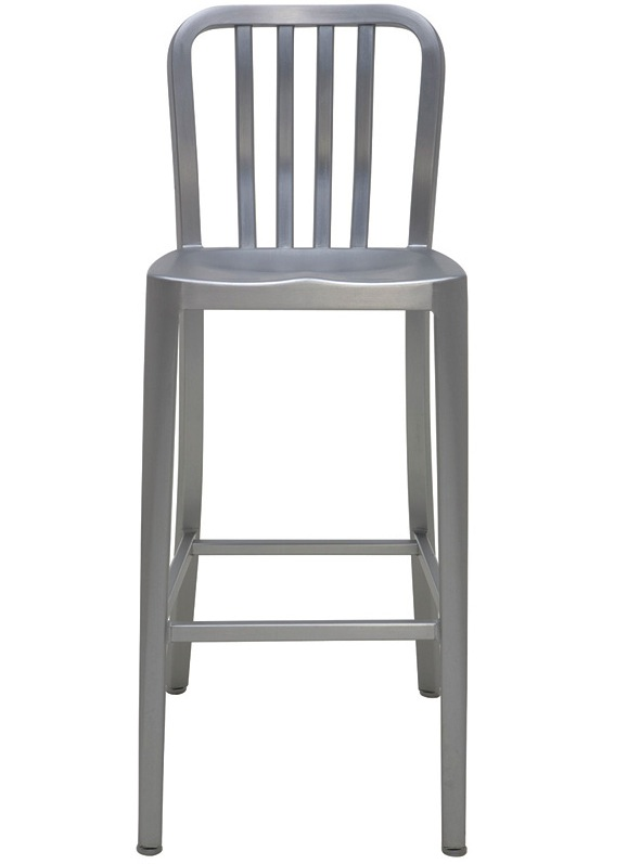 Main Bar Stool 2piece Indoor Outdoor Patio Set Aluminum