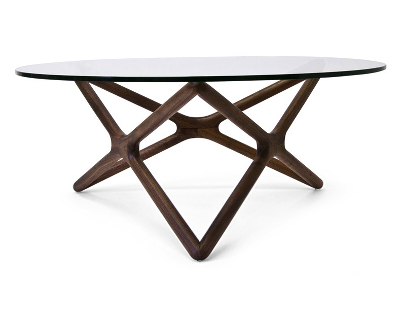 Nuevo Star Coffee Table American Walnut Hgem370
