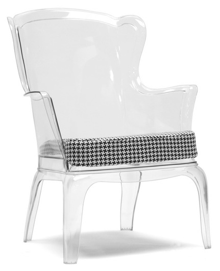Vision Chair Transparent Zuo Modern Contemporary