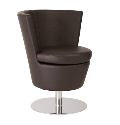Squire Lounge Swivel Chair By Eurostyle