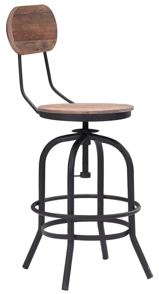 Pleasing Twin Peaks Counter Chair By Zuo Industrial Metal Swivel Evergreenethics Interior Chair Design Evergreenethicsorg