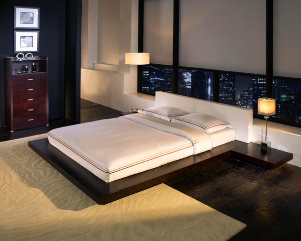 Object moved Platform bed japanese style