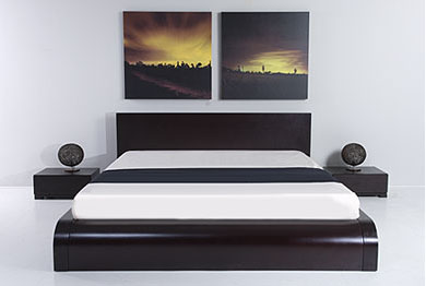 Zen Japanese Style Platform Bed