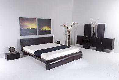 Zen japanese style platform bed Platform bed japanese style