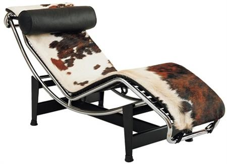 Lc4 le corbusier pony chaise lounge lc4 chaise in for Chaise longue pony lc4 le corbusier