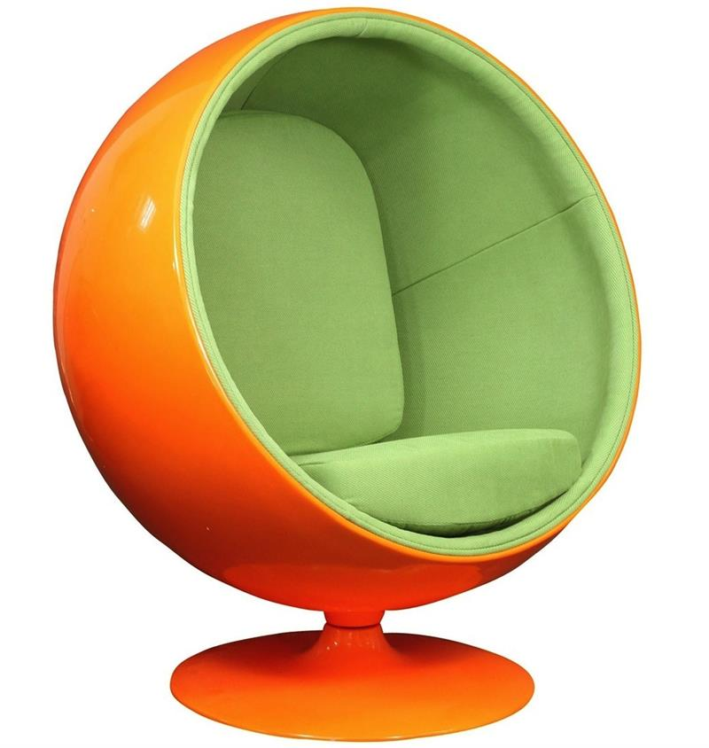 Fantastic Eero Aarnio Style Ball Chair Home And Office Furniture Short Links Chair Design For Home Short Linksinfo
