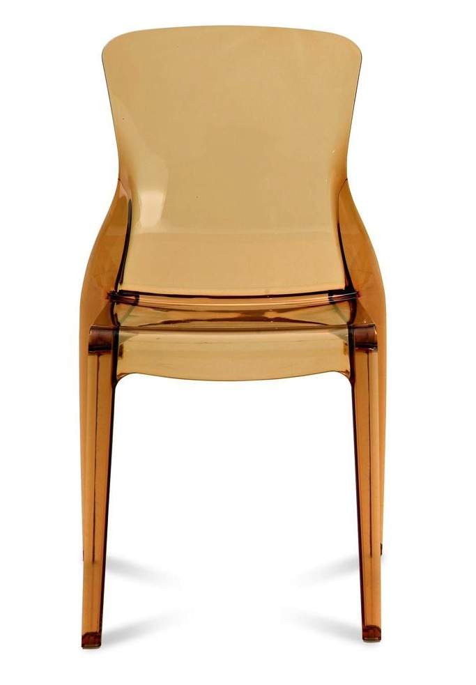Crystal Stacking Side Chair By Domitalia Modern Stacking