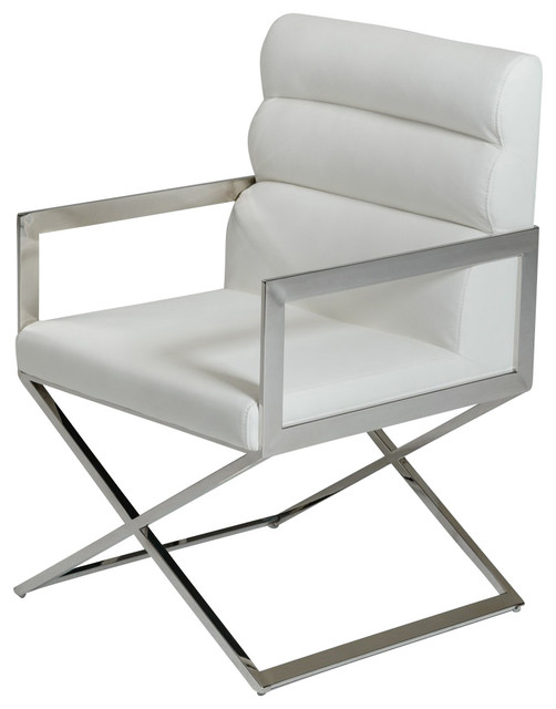 Chelsea Dining Chair With X Shaped Legs Directors Dining