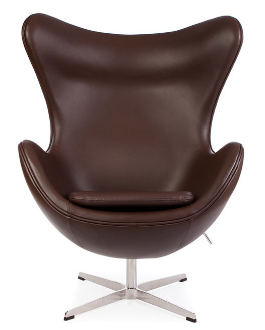 leather egg chair leather jacobsen egg chair we have larges selection on 16624 | Eggchairbrownleather