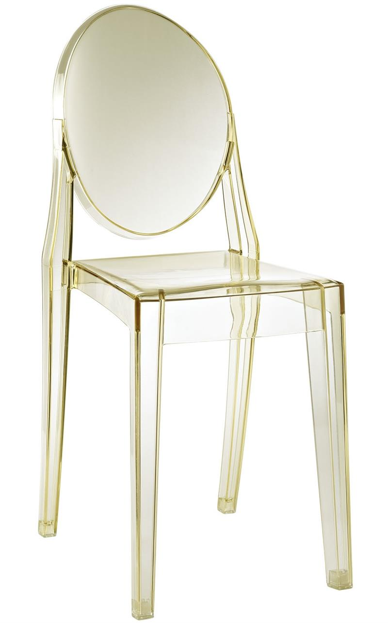 Ghost Style Side Chair  sc 1 st  Modern Selections & Ghost Side Chair - Ghost Chair Armless Many Colors - Home and Office ...