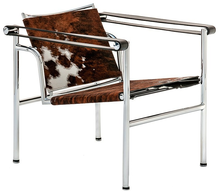 Lc1 Sling Chair Natural Cowhide Le Corbusier Lc1