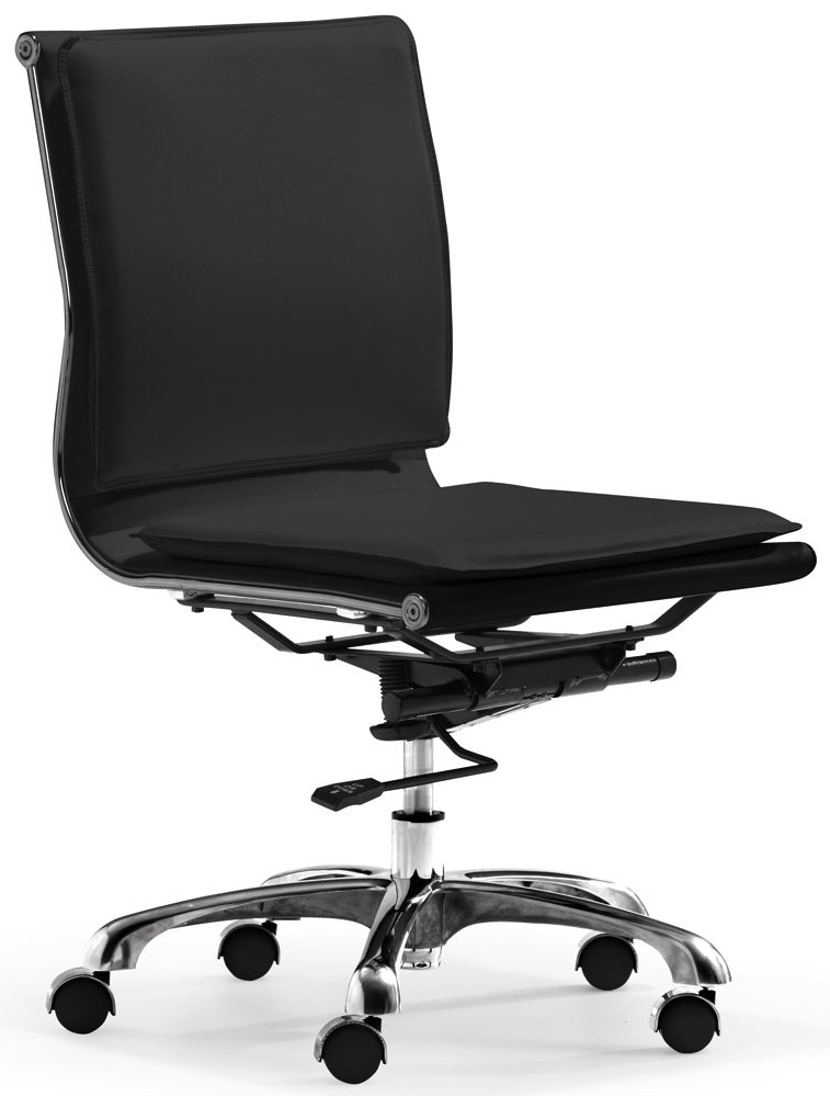 White Office Chair Armless