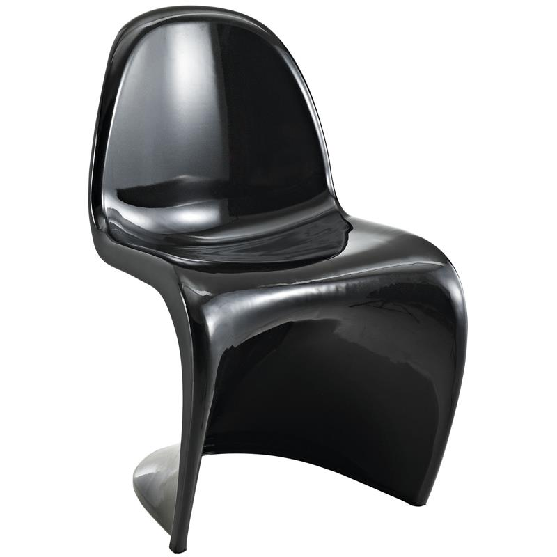 Panton S Chair In Glossy Finish 8 Colors Modernselections