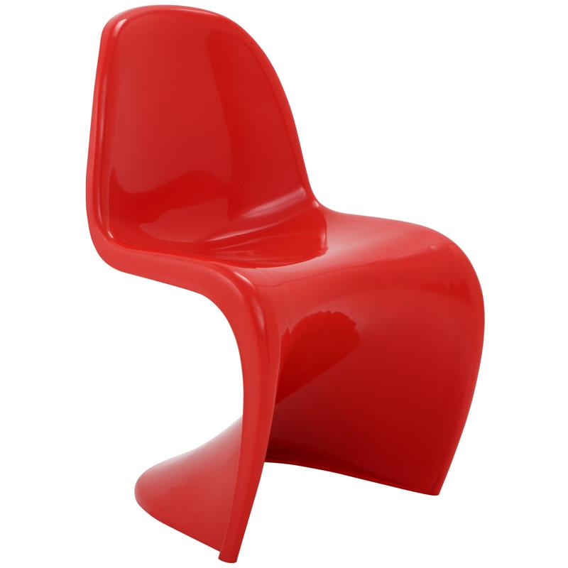 Panton Chair panton s chair in glossy finish 8 colors modernselections