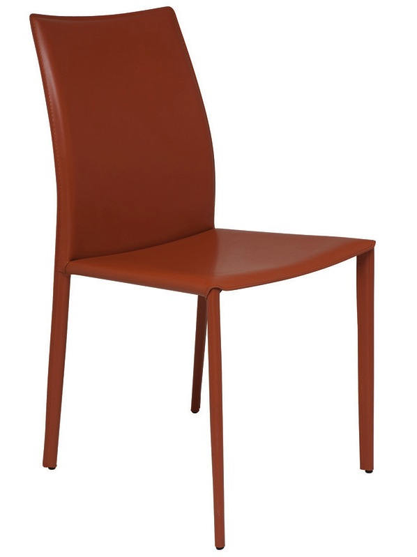 Sienna Leather Dining Chair By Nuevo Living