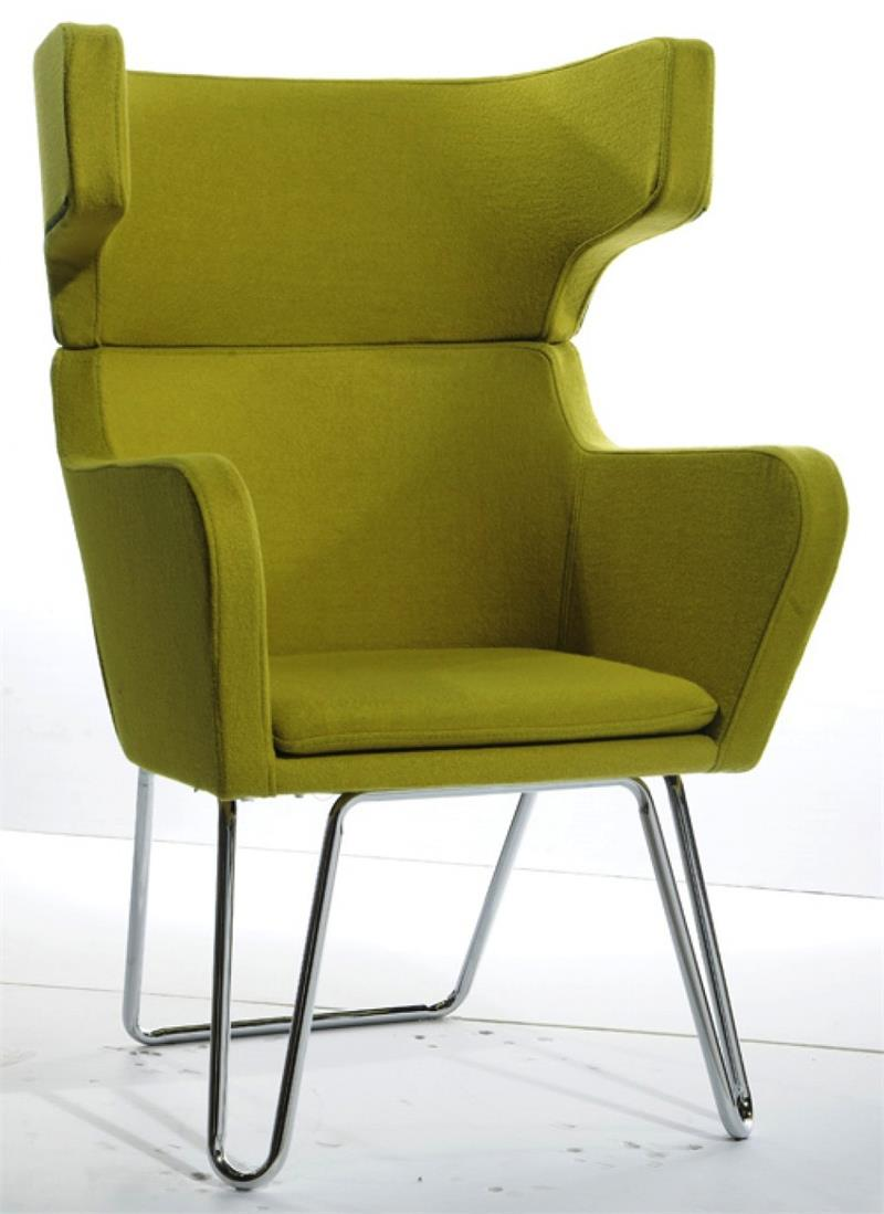 Sonoma Lounge Chair Green Fabric Lounge Chair Blue