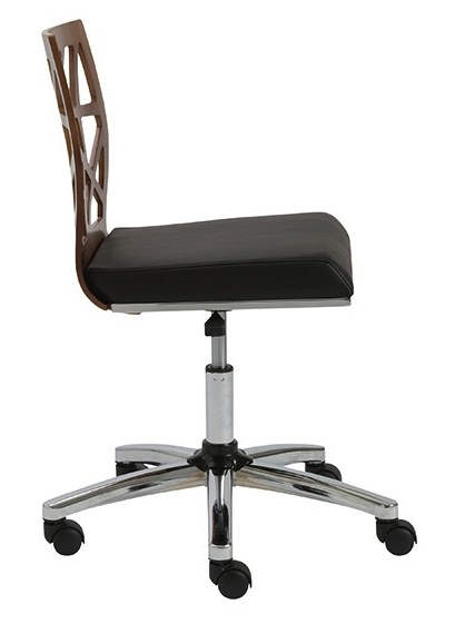 Sophia Office Chair Armless By Eurostyle