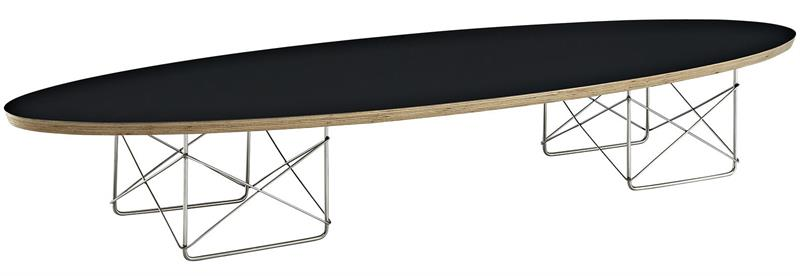 Elliptical Surfboard Coffee Table