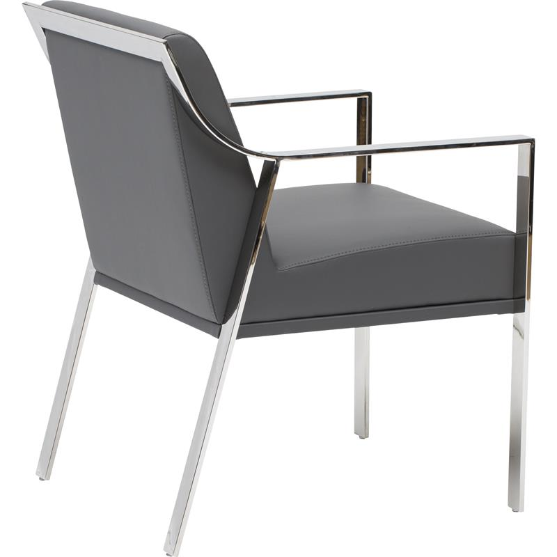 Nuevo Valentine Dining Armchair In Polished Or Gold