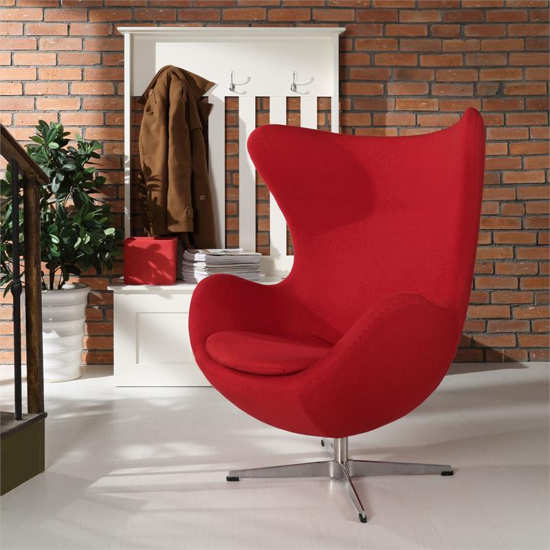 Astonishing Arne Jacobsen Style Egg Chair Many Colors Home And Office Ibusinesslaw Wood Chair Design Ideas Ibusinesslaworg