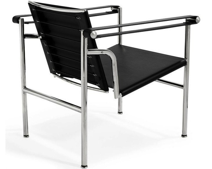 Le Corbusier Basculant Lc1 Arm Chair Leather Home And