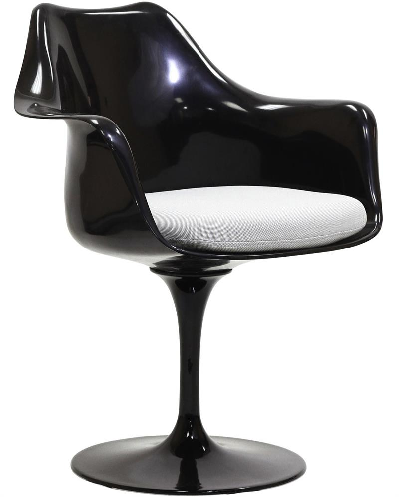 Strange Saarinen Style Tulip Armchair Black Frame Tulip Side Chairs Andrewgaddart Wooden Chair Designs For Living Room Andrewgaddartcom